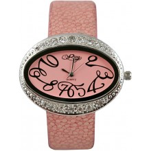 Fashion watch & stingray leather watch band STWACT20 Pink