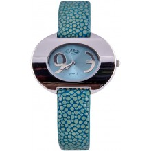 Fashion watch & stingray leather watch band STWAP22 Sky Blue