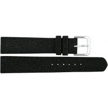 Genuine stingray leather watch band SWB001 Black