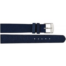 Genuine stingray leather watch band SWB001 Blue