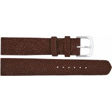 Genuine stingray leather watch band SWB001 Brown
