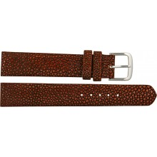Genuine stingray leather watch band SWB004SA Burgundy