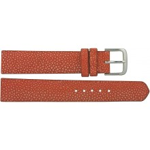 Genuine stingray leather watch band SWB004SA Light Salmon