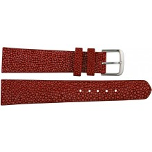 Genuine stingray leather watch band SWB004SA Red