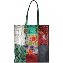 Genuine python snake leather bag TOTE01PT MC