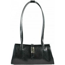 Genuine snake leather bag TSN29 Black