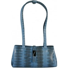 Genuine snake leather bag TSN29 Blue