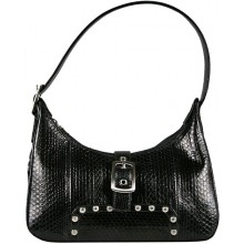 Genuine snake leather bag TSN45 Black