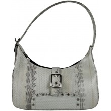 Genuine snake leather bag TSN45 Bone