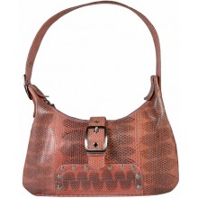 Genuine snake leather bag TSN45 N.Old Rose