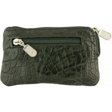 Genuine alligator leather card holder UCMC29 Black
