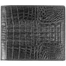 Genuine alligator leather wallet USCM7T03 Black