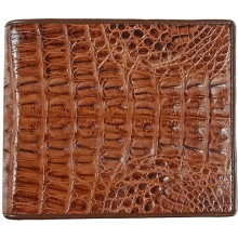 Genuine alligator leather wallet USCM7T03 Brown