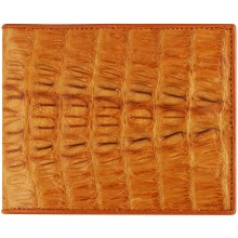 Genuine alligator leather wallet USCM7T03 Tan