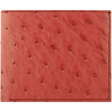 Genuine ostrich leather wallet USOSC04 Burgundy