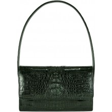 Genuine alligator leather bag VCM31 Black