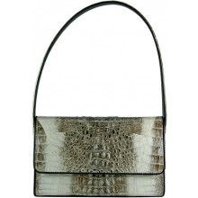 Genuine alligator leather bag VCM31 Natural