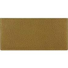 Genuine cow leather wallet WLW024 Brown
