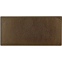 Genuine cow leather wallet WLW025 Dark Brown