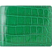 Genuine crocodile leather wallet WN02010 Green